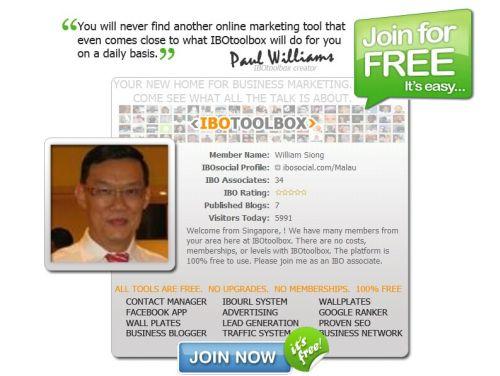 IBOToolBox - A 100% FREE Social Media Platform
