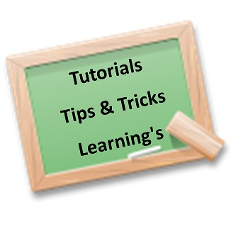 Learning-tutorials-lecture-tips and tricks