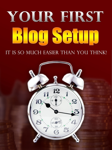 Your First Blog Setup Cover Graphic
